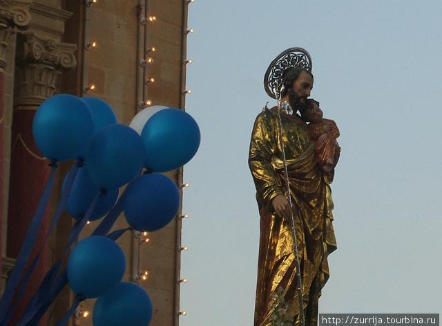 Св. Иосииф (титулярная статуя) (Ала, Гозо)