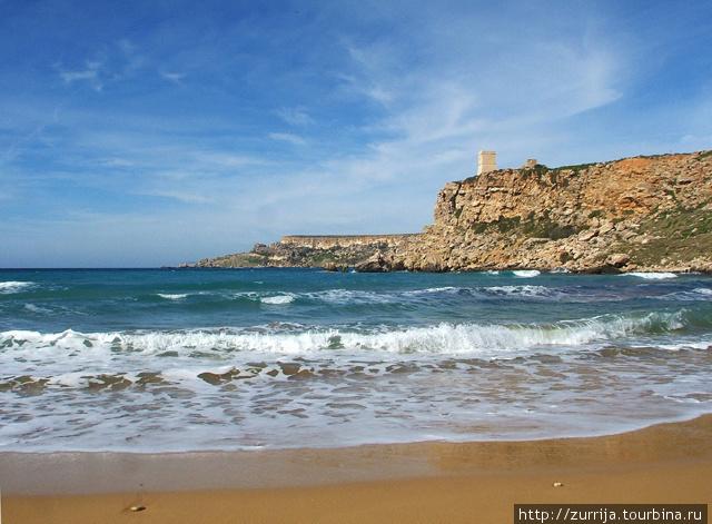 Пляж Айн-Туффиха (Мджарр, Мальта)