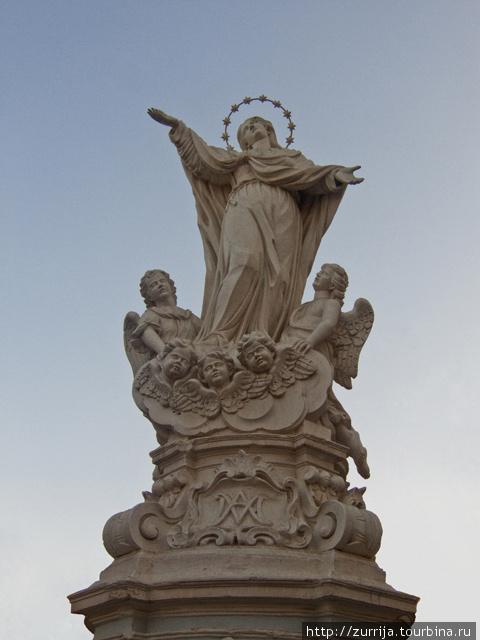 Успение Богородицы (статуя) (Гудья, Мальта)