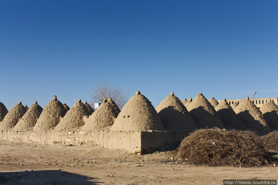 Традиционные дома Харрана