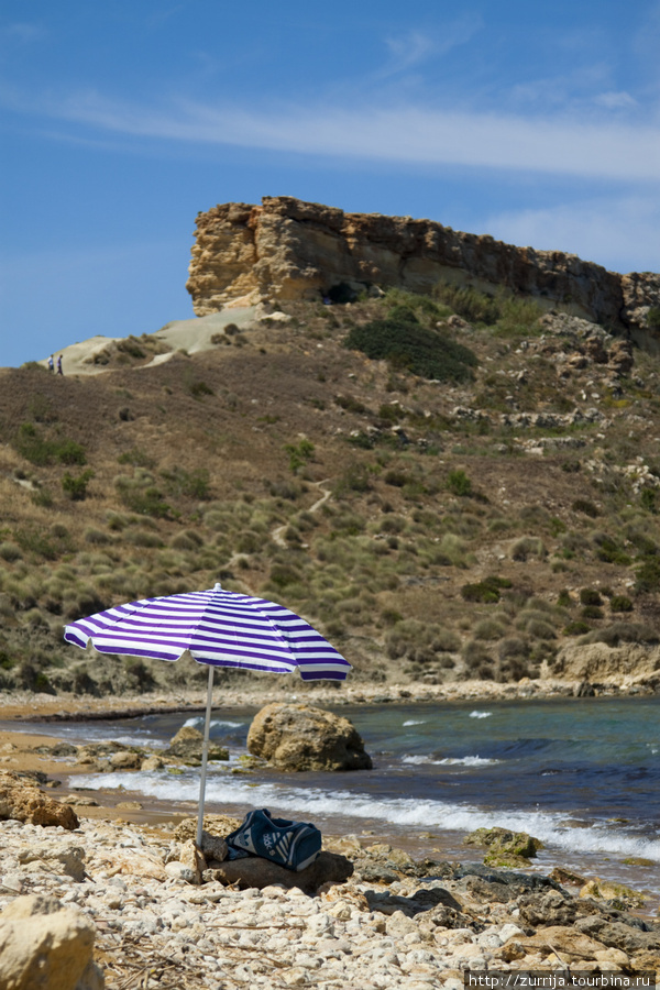Пляж Голден-Бэй (Меллиха, Мальта)