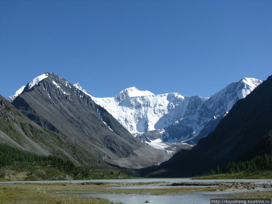 Белуха. Ак-Кемское озеро