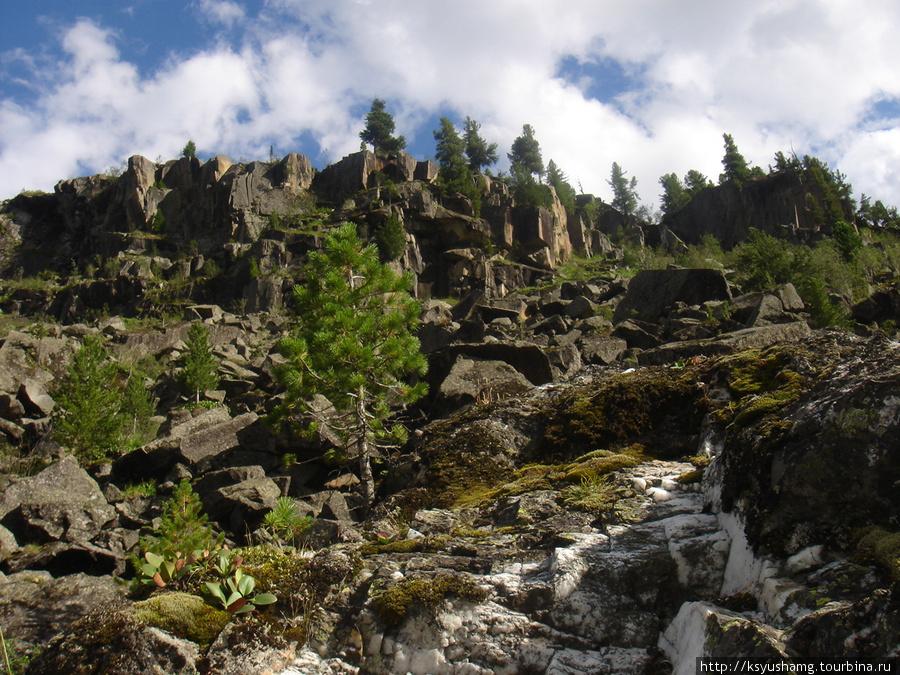 По дороге к водопаду Кони-Аиры