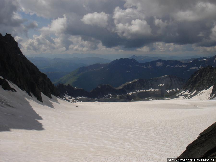 Вид с перевала Восточный Капчальский