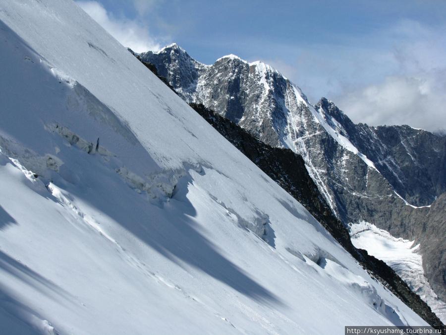 Подъем на перевал Делоне
