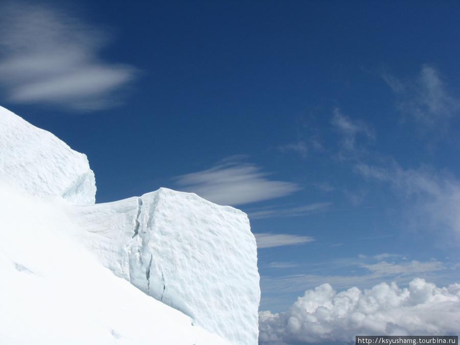 Подъем на Белухинский перевал, 2010 год