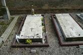 могилы Игоря Стравинского с женой Верой