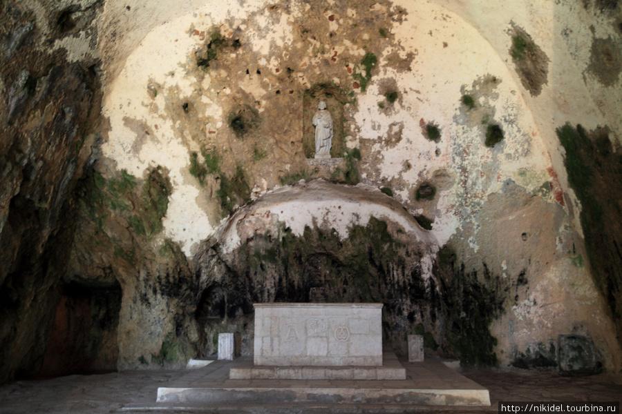 Пещерная церковь св. Петра в Антакье