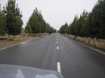 Дорога от Термеза к комплексу.