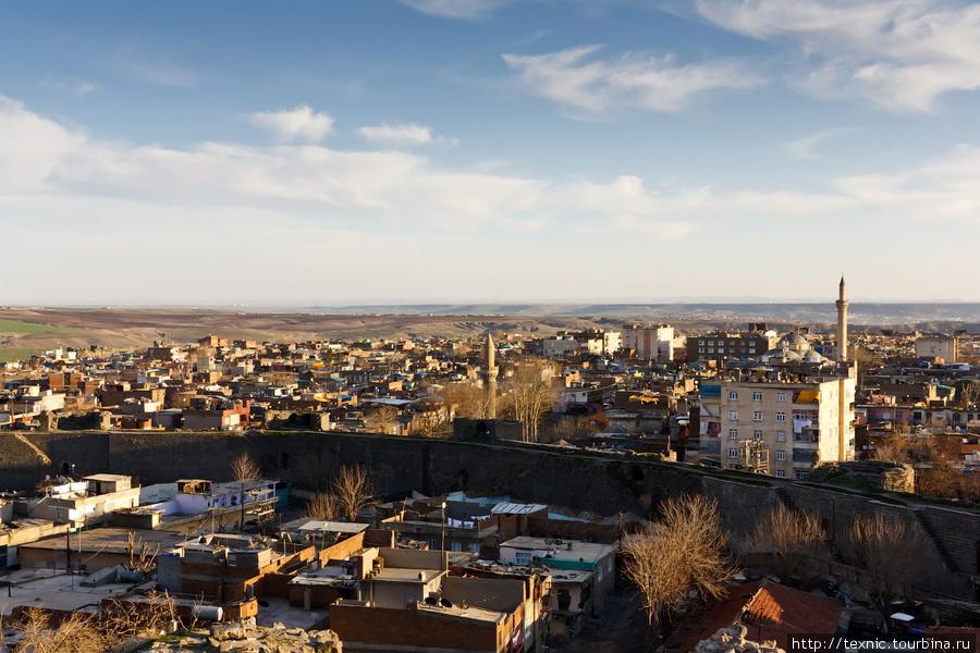 Город с высоты крепости