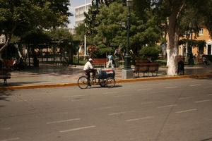 Специальный велосипед для продажи пепси