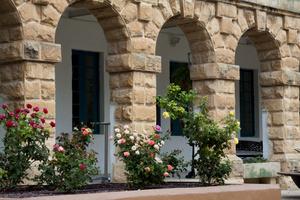 Британские казармы: деталь (Пемброк, Мальта)