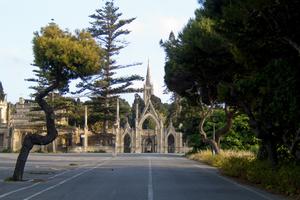 Ворота кладбища Аддоллората (Паола, Мальта)