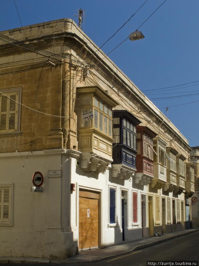 Городская улица (Слима, Мальта)