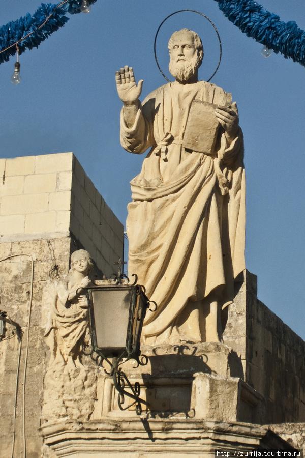 Св. Матфей (статуя) (Ренди, Мальта)