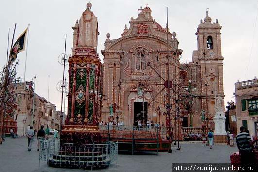 Приходская церковь Успения Богородицы (Ренди, Мальта)