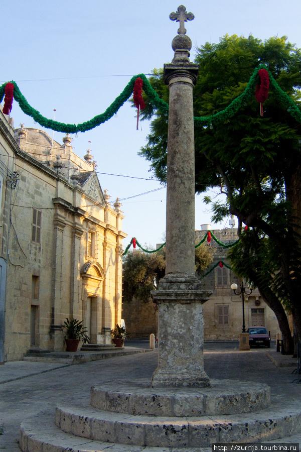 Крест Деймы и часовня Успения Богоматери (Сафи, Мальта)
