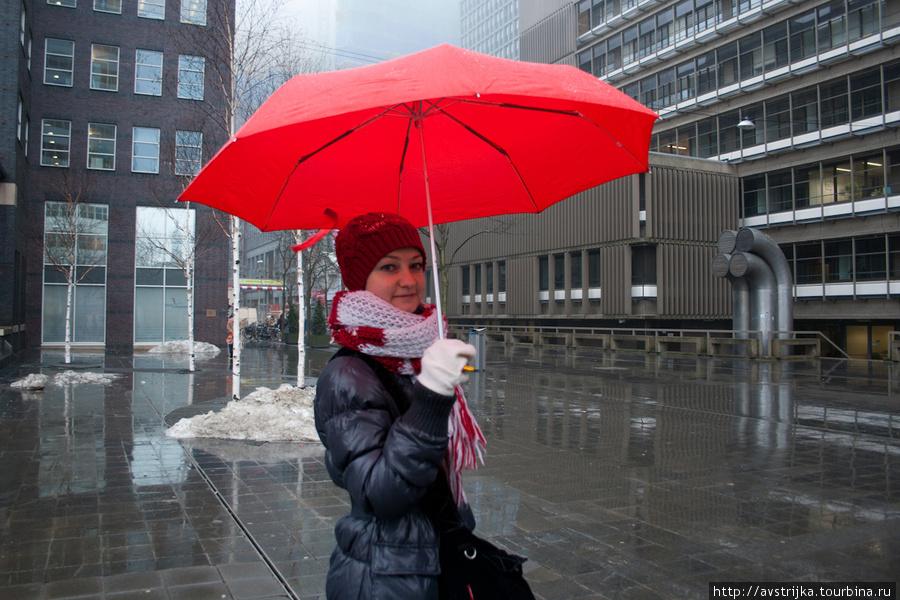 красная шапочка на улицах
