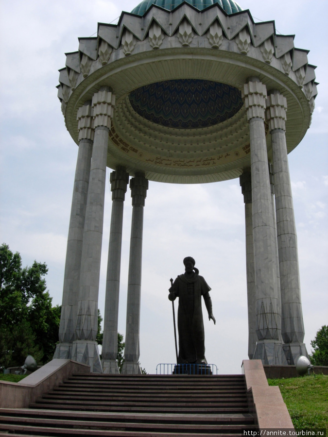Памятник Алишеру Навои.