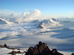 Облака. Вид со склона Эльбруса
