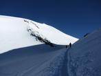 Вход в седловину Эльбруса