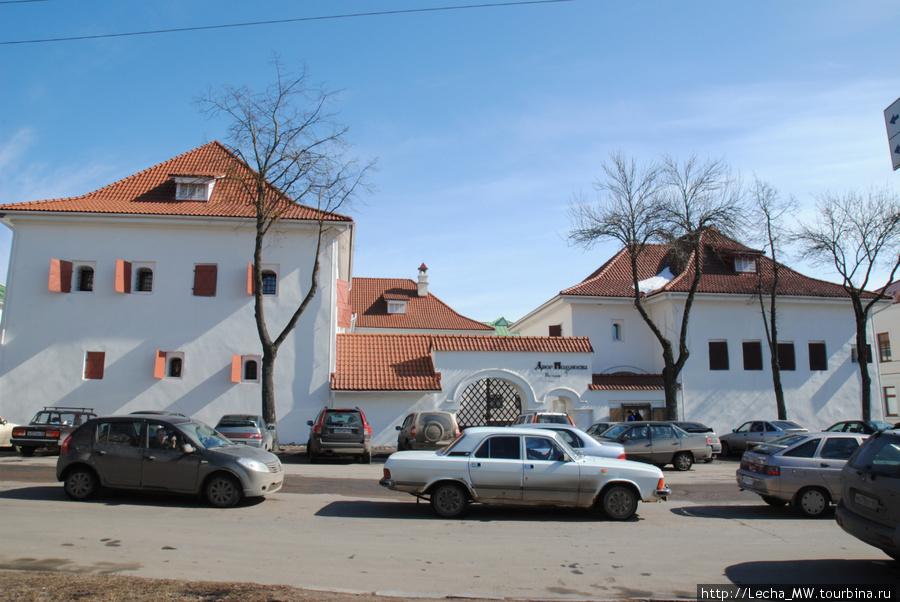 Вид с улицы Некрасова