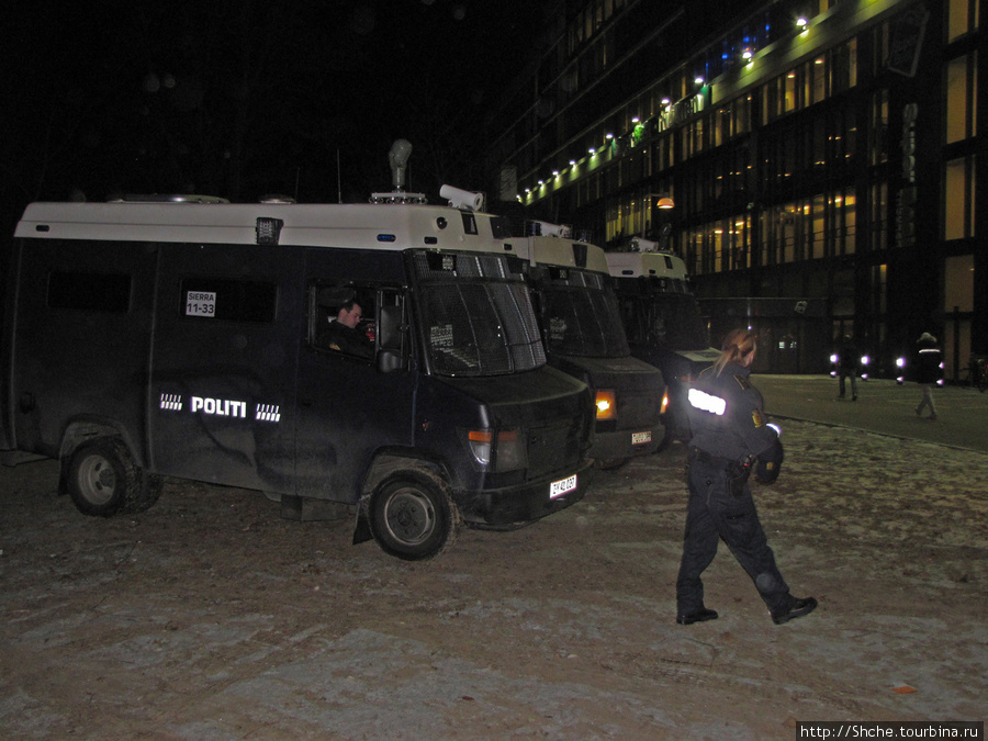 Полиция не вмешивалась.