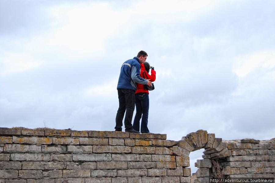 На стенах Ивангородской крепости