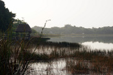 Раннее утро на озере Коба