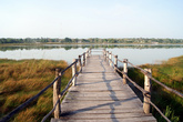 Пирс на озере Коба
