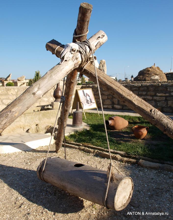Маслобойка, которую до сих пор используют в селах Азербайджана