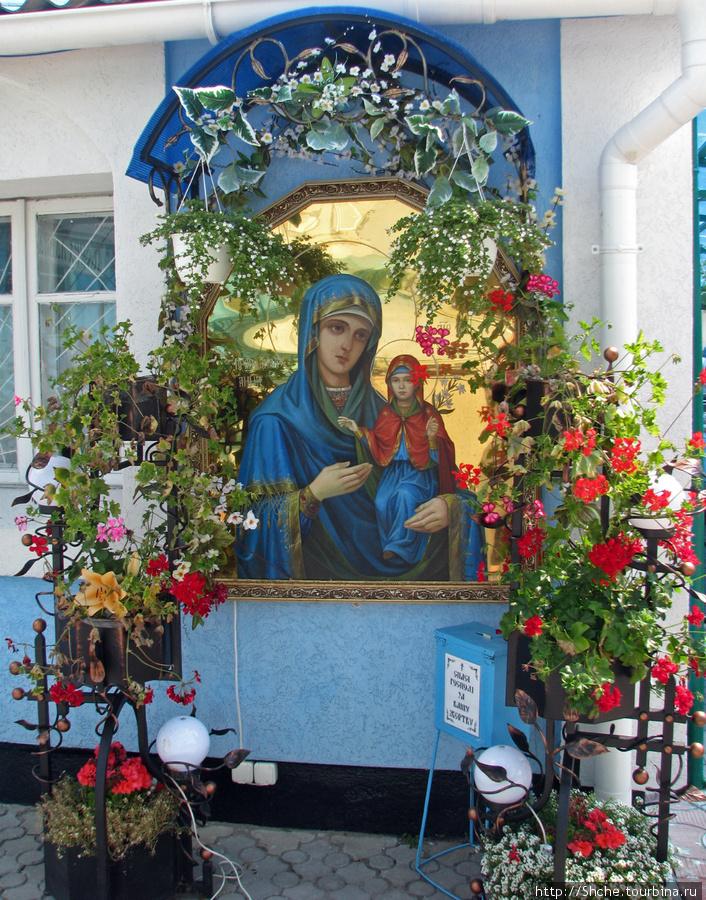 Икона св.Анны. фото 2009 г.