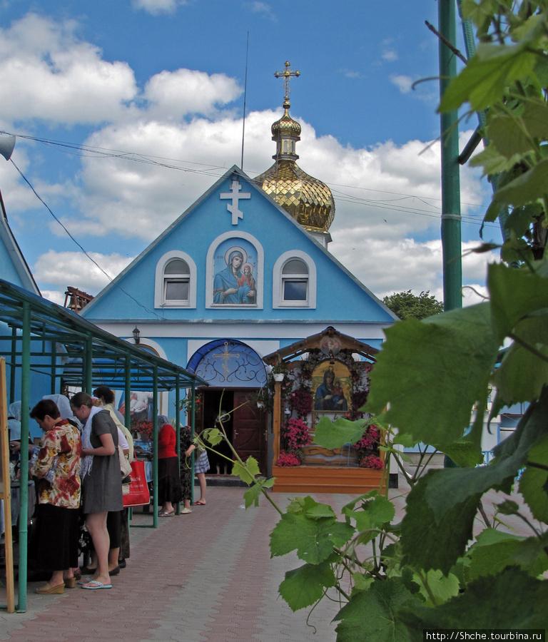 Церковь, в которой хранится икона Святой Преподобной Анны