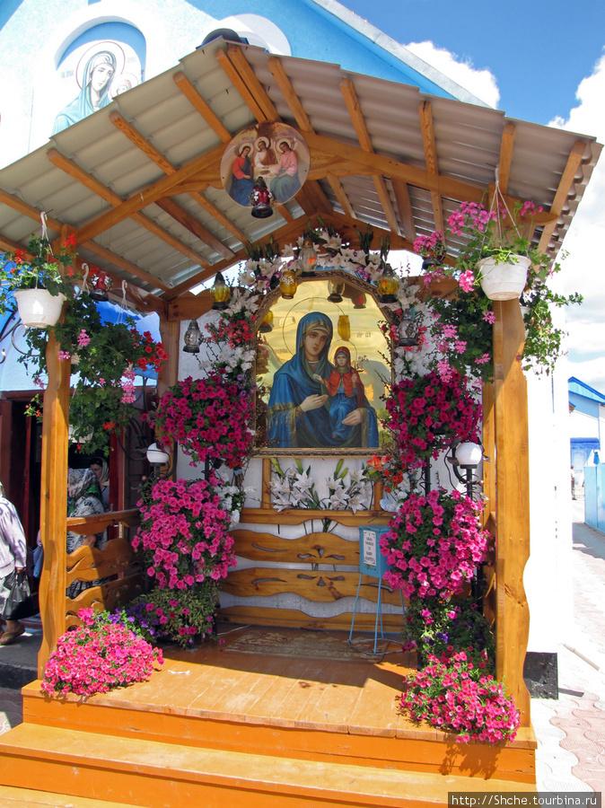 Икона св.Анны. фото 2010 г.