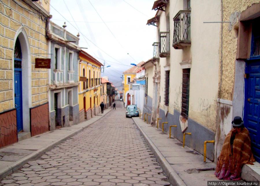 Старинные улочки Потоси