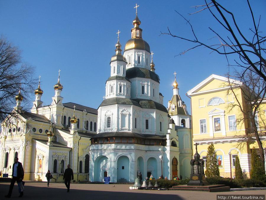 Покровский монастырь-православный мужской монастырь.Харьков Харьков, Украина.
