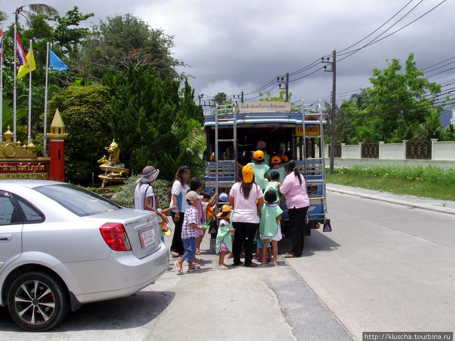 Выезд детей в зоопарк