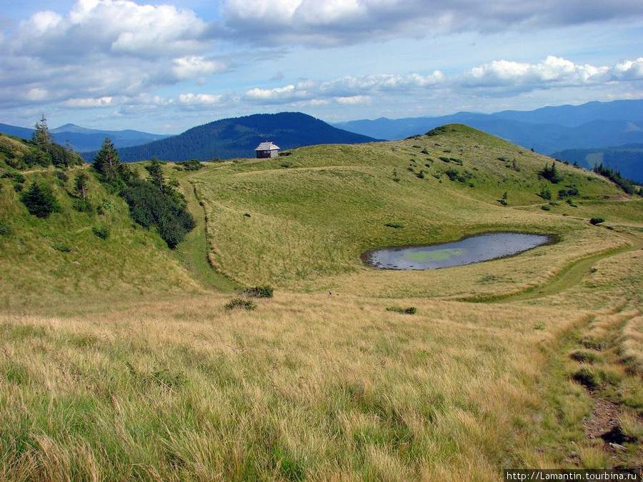 Склоны Черногорского хребта