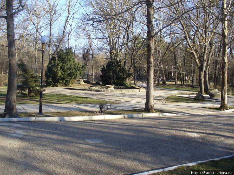 И между этим — парк...