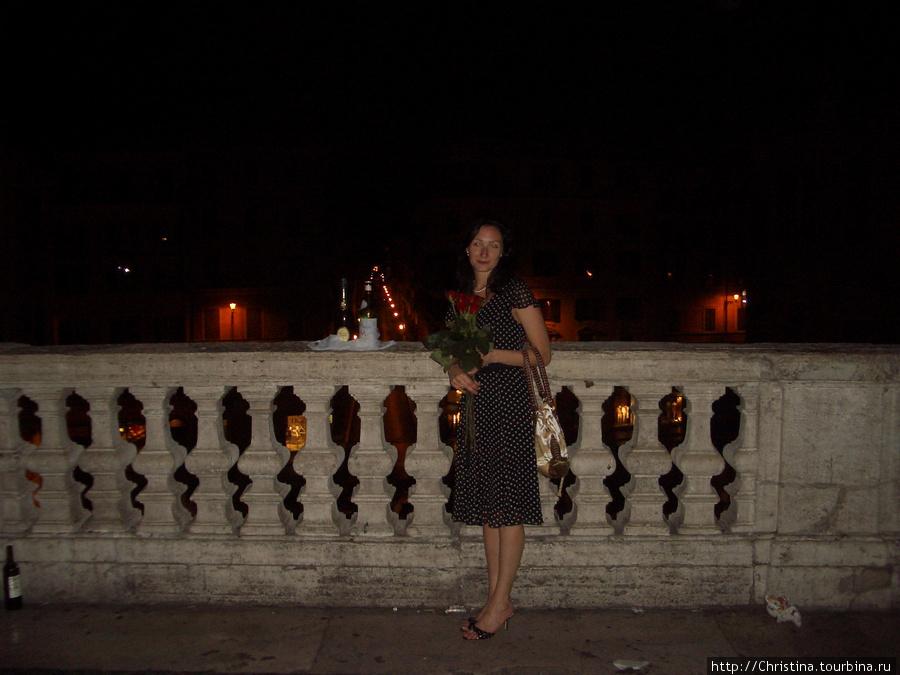 Мой 29ый день рождения на Испанской Лестнице :)