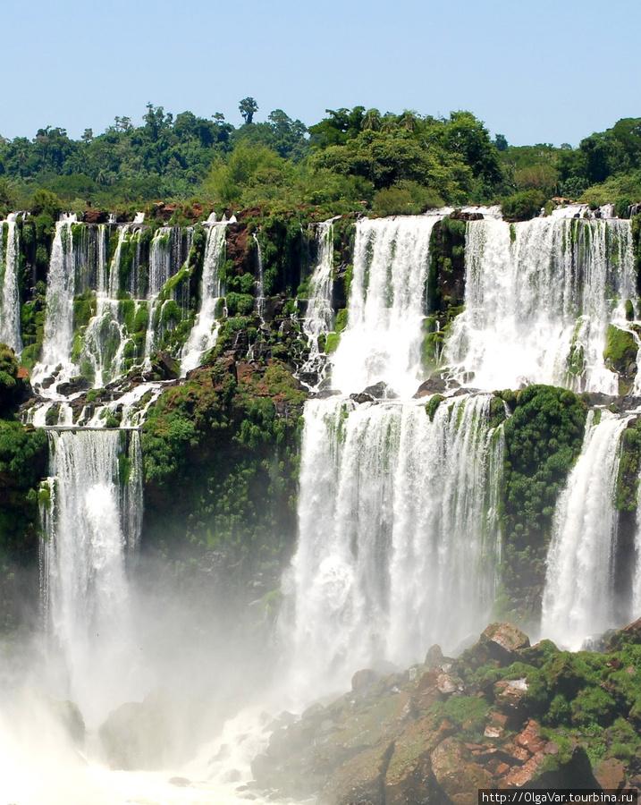 Симфония серебряной воды Игуасу национальный парк (Аргентина), Аргентина