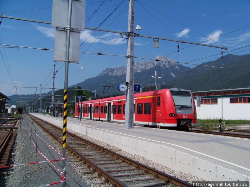 Поезд в розенхайме — это новые региональные электрички