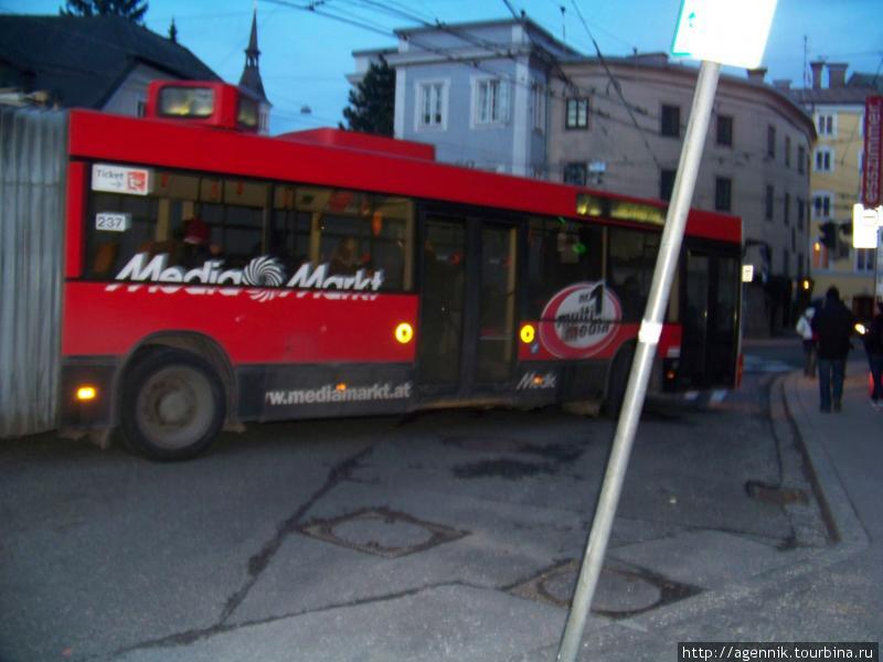 Автобус в Ингольштадте