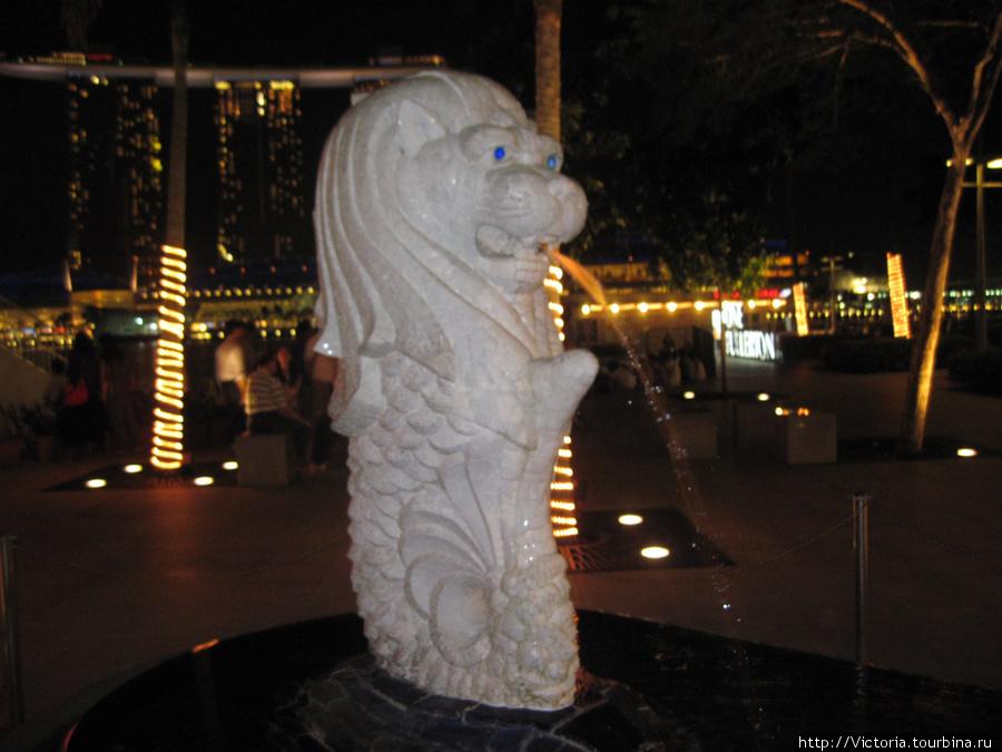 Мерлион — символ Сингапур