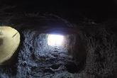 подземные помещения в монастыре Eski Gumusler — шахта