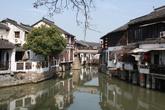 Zhujiajiao — город на воде. Пригород Шанхая.