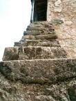 Лестница в дом настоятеля.