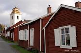 Частные дома шведов, приезжавших в церковь молиться