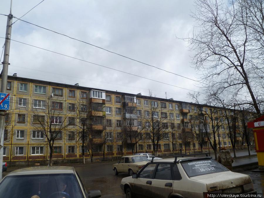 Улица Герцена, дом Нины Груздевой