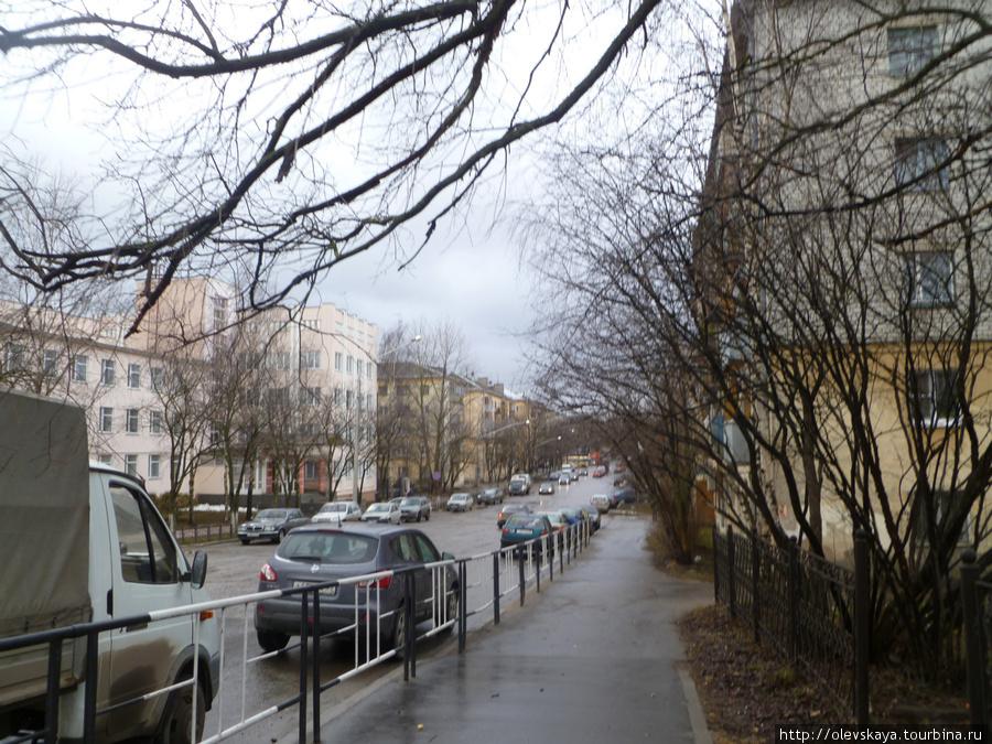 Улица Яшина.